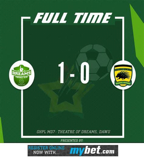 Match Report: Dreams FC 1-0 Asante Kotoko - Dwubeng ...