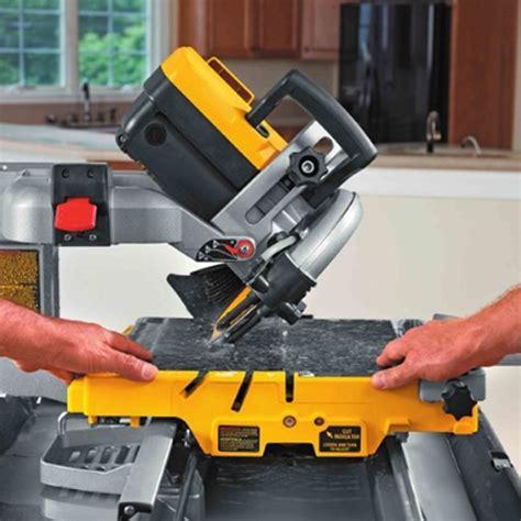 dewalt d24000 10 quot wet tile saw bc fasteners tools