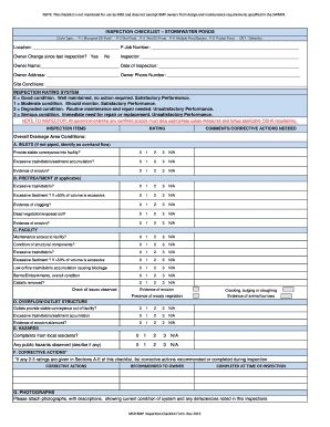 editable inspection checklist template excel fill print