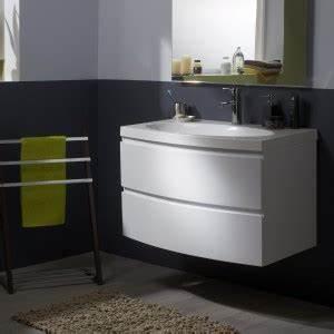 une petite salle de bain luxe pas cher c39est possible With petit meuble salle de bain pas cher