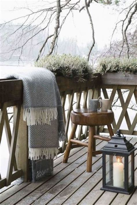 gorgeous winter balcony decor ideas  wow gardenoholic