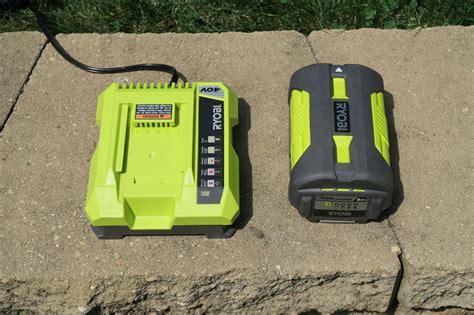 ryobi cordless lawn mower tools  action