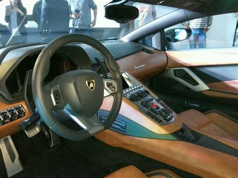 Lamborghini Aventador S Interior Lp740 4 Launched Indian