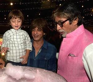 Wait, what! Shah Rukh Khan's son AbRam thinks Amitabh ...