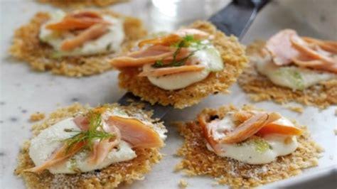 canap sal parmigiano reggiano canapés with smoked salmon
