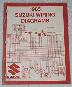 1985 Suzuki Motorcycle And Atv Electrical Wiring Diagrams Manual 85  U0026quot F U0026quot  Models