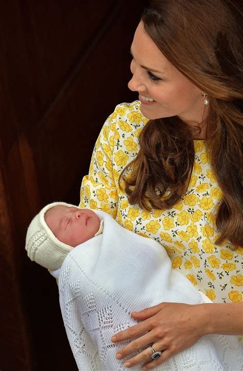 Britain's Royal Baby Named As Princess Charlotte Elizabeth
