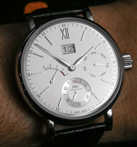 Iwc Portofino Hand-wound Day & Date Watch Hands-on