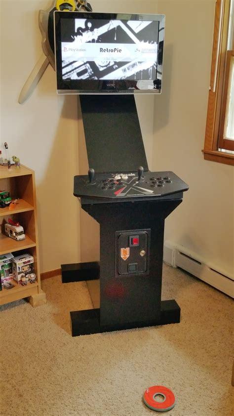 Raspberry Pi Arcade Cabinet Plans by Raspberry Pi 2 Arcade Cabinet Project Album On Imgur