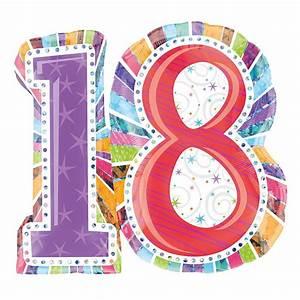 Deco 18 Ans : ballon en forme de chiffre 18 ballon helium anniversaire 18 ans ~ Teatrodelosmanantiales.com Idées de Décoration