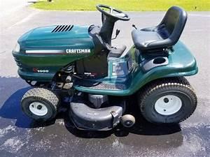 Used Craftsman Lt1000 42 Riding Lawn Mower