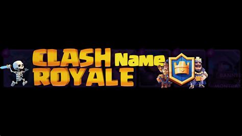 Banner Template De Clash Royale by Clash Royale Banner Template By Montrax On Deviantart