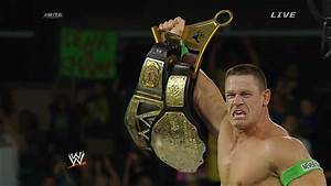 RECAP & REACTION: John Cena Wins WWE World Heavyweight ...