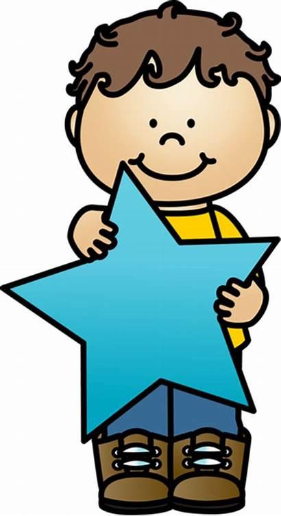Star Animados Clip Dibujos Boy Student Para