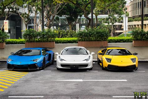 2014 Exotics Car Club Cny Gathering In Singapore
