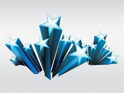 Star 3d Stars Vector Shooting Graphics Clipart
