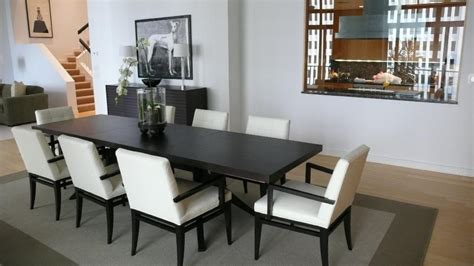 surprising narrow width dining table decorating ideas