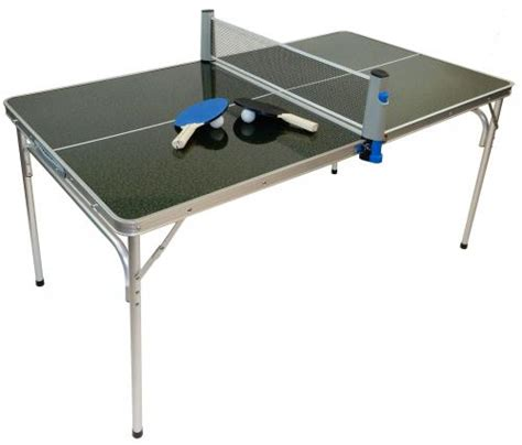 compact ping pong table portable mini ping pong table with accessories