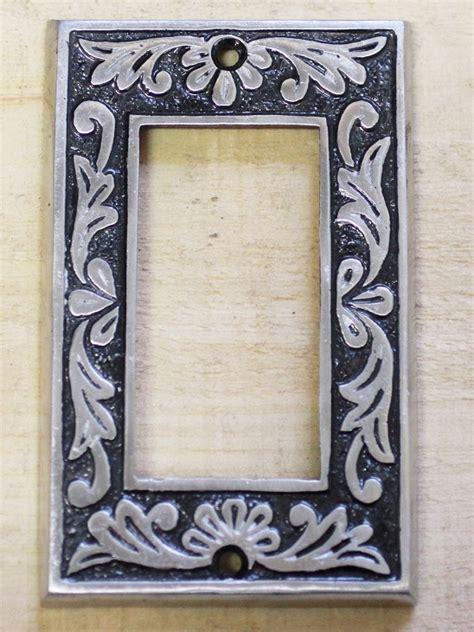 single rocker decorative switch plate  quebec hardware