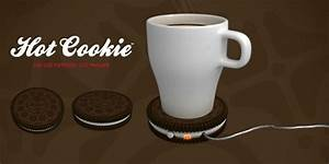 Tasse à Café Originale : chauffe tasse usb biscuit ~ Teatrodelosmanantiales.com Idées de Décoration