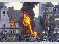 Kropotkindersurprise — 2011 Protesters burn the