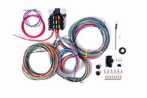 12v 9 3 Circuit Wiring Harness  U2013 Millworks Hot Rod