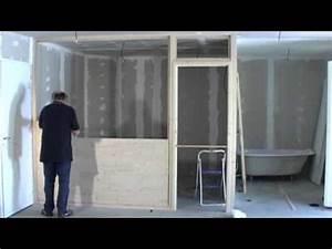 Faire Une Cloison En Bois : la cloison kemay youtube ~ Melissatoandfro.com Idées de Décoration