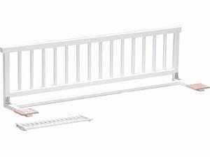 Barriere Pour Lit Enfant : barri re de lit moby coloris blanc vente de accessoires ~ Premium-room.com Idées de Décoration