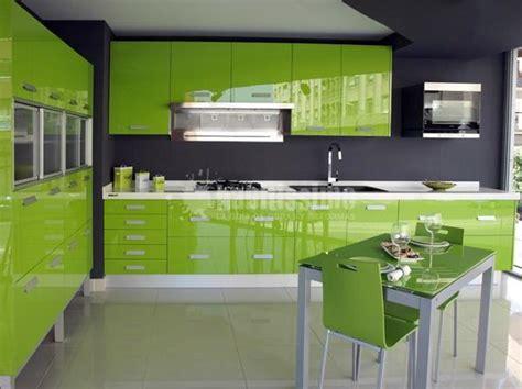 foto muebles de cocina yelarsan modelo  verde de