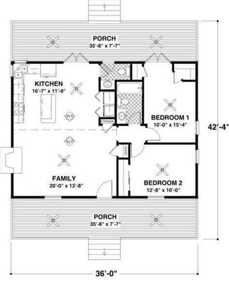 cottage  beds  baths  sqft plan   main floor plan houseplanscom small house