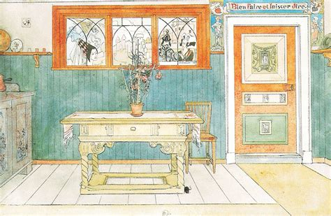home alone house interior carl larsson and august strindberg mouse interrupted