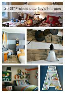 DIY Boy Bedroom Projects - 25 Ideas That Your Boy Will ...