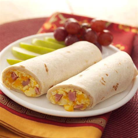 breakfast wraps recipe taste  home