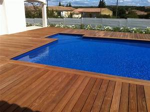 terrasse bois bord piscine nos conseils With bord de piscine en bois