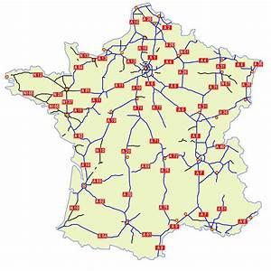 Reseau Autoroute France : carreteras en francia viajar a francia ~ Medecine-chirurgie-esthetiques.com Avis de Voitures