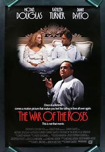 THE WAR OF THE ROSES * CINEMASTERPIECES 1SH DS ORIG ...