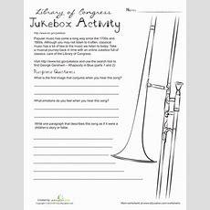 Music Appreciation  Worksheet Educationcom