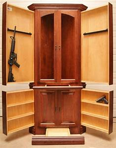 How To Build A Corner Gun Cabinet - WoodWorking Projects