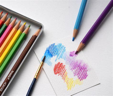 watercolor pencils drawing pencils  pencil set  wet