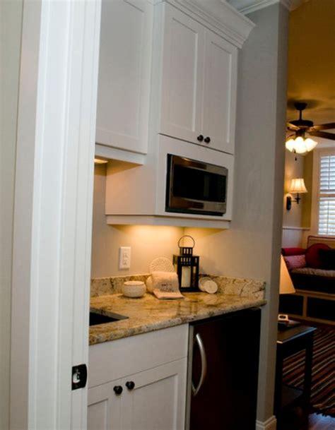 small  charming  beautifully organized kitchenettes