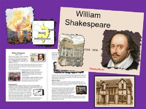 william shakespeare powerpoint information booklet to