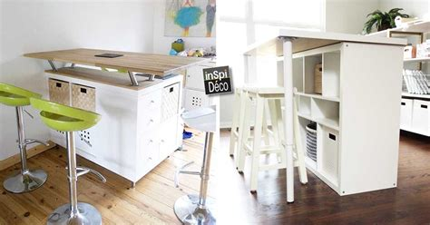 etagere bureau conforama amazing transform an ikea shelf in a kitchen island