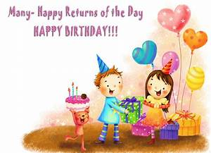 Amazing 50 Birthday Wishes For Kids 2016 - Birthday Wishes ...