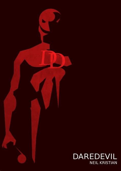 Daredevil By Neil Kristian By Neilkristian On Deviantart