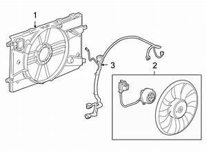 Chevrolet Cruze Engine Cooling Fan Shroud  Trans  Auto  Make