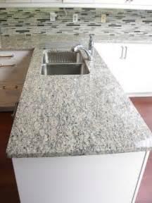 kitchen countertop decorating ideas santa cecilia light granite