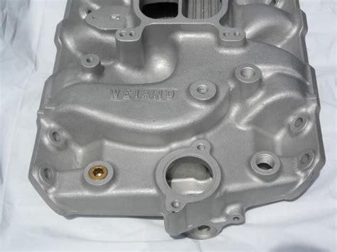 find   pontiac weiand  aluminum intake manifold