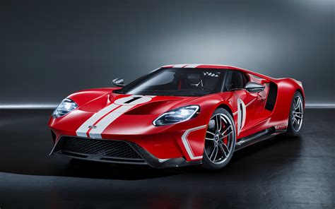 Wallpaper Ford Gt 67, Heritage Edition, 2018, Hd, 4k