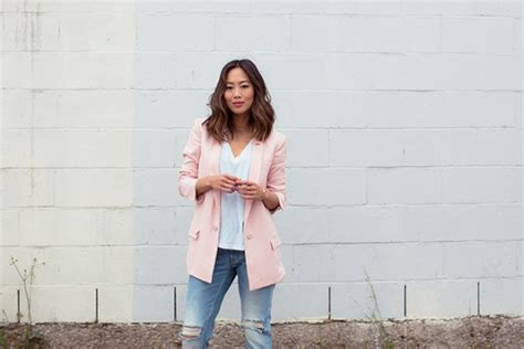 Picture Of With white loose shirt and jeans