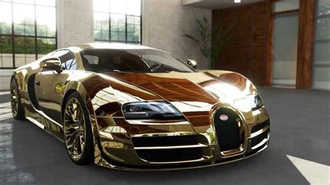 Gold Bugatti Veyron Wallpaper